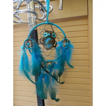 Attrape-rêve steampunk : hibou. ( Dreamcatcher).